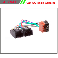 Car ISO Stereo Adapter Connector For Chevrolet 2006-2011 Saab 9.5 1998+ Wiring Harness Auto Radio Adaptor Lead Loom Cable Plug