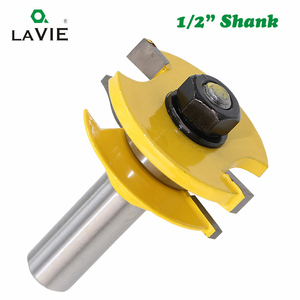 Image 5 - LAVIE 3pcs/set 12mm 1/2 Shank Door Panel Cabinet Tenon Router Bit Set Milling Cutter For Woodworking Cutters Cutting Tools 03016