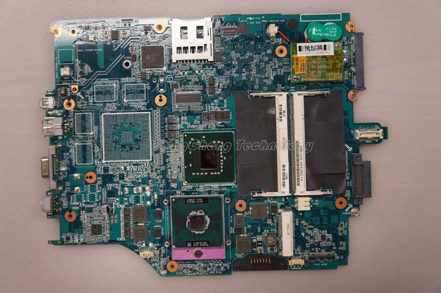 MBX 165 laptop Motherboard For Sony MBX-165 MS91 REV:1.0 1P-0076100-8010 A1369754B for intel cpu with integrated graphics card