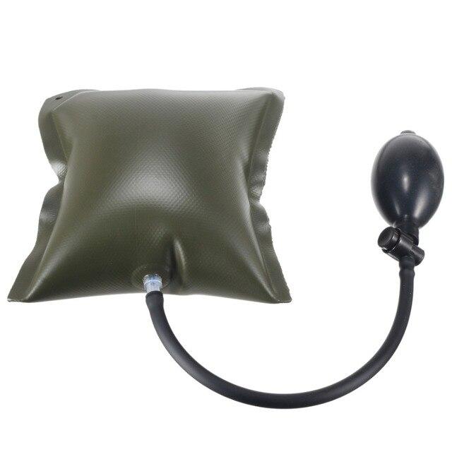 Black/Green Car Air Pump Wedge Auto Door Window Open Air Inflatable Pump Wedge Pad Entry Shim Repair Tools