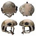 camo Atacs AU Deluxe Maritime NIJ level IIIA 3A FAST Kevlar Bulletproof Helmet HP White Tested Ops Core Ballistic DEVGRU Helmet