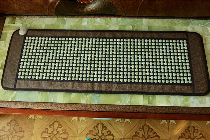 цена 2015 New product! korea heating jade mat jade mattress tourmaline mat Hot jade stone heating cushion 50*150CM