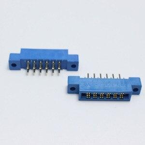Image 2 - 30 ピース/ロット 805 カードエッジコネクタ 3.96 ミリメートルピッチ 2 × 6 行 12 ピン PCB スロットはんだソケット SP12 ディップはんだブロックタイプ