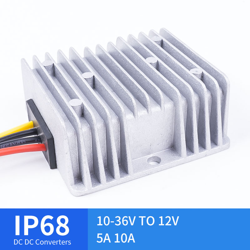 Mini 10-36V TO 12V 5A 10A DC Step-Down Converter Stepped DC Waterproof Converter Golf Cart Reducer High Quality RCNUN CE RoHSMini 10-36V TO 12V 5A 10A DC Step-Down Converter Stepped DC Waterproof Converter Golf Cart Reducer High Quality RCNUN CE RoHS