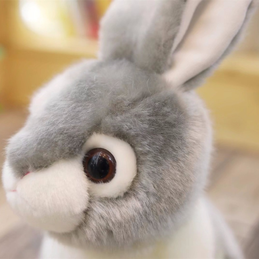 Hot 20cm Simulation Kawaii Rabbit Plush Toys Stuffed Cute Animal Toys for Kids Children Birthday Christmas Gift Doll Car Decor in Stuffed Plush Animals from Toys Hobbies