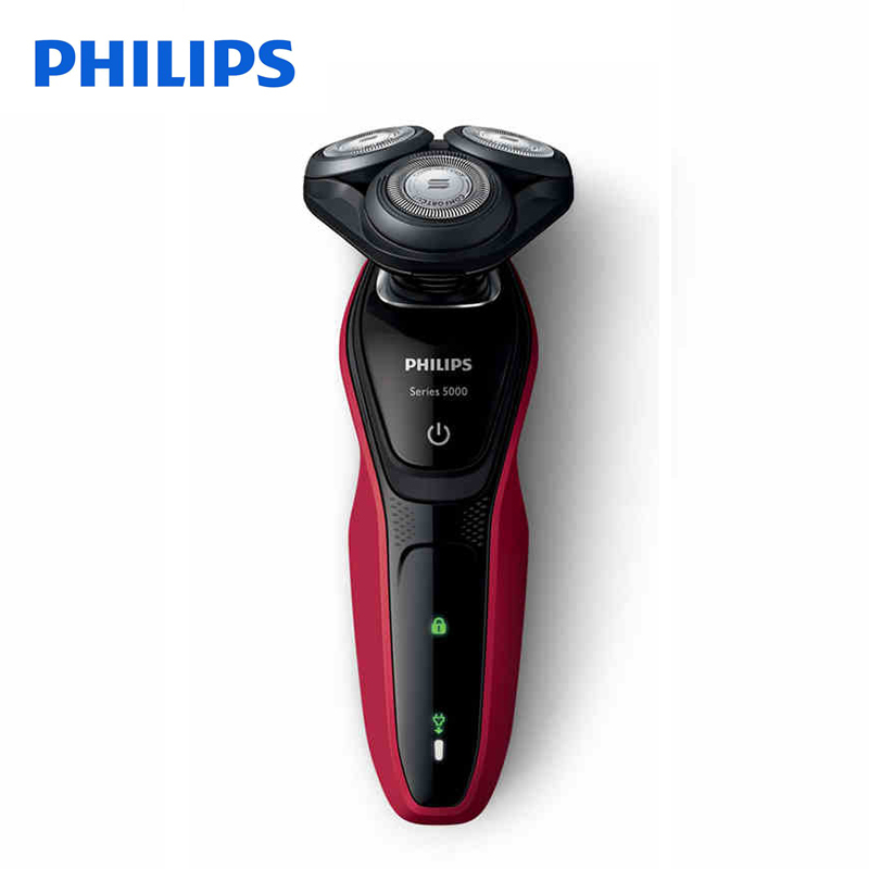 Original Philips Professional Electric Shaver S5095 With 3D Independent Floating Heads Waterproof with Ni-MH Battery For Men philips brl130 satinshave advanced wet and dry electric shaver
