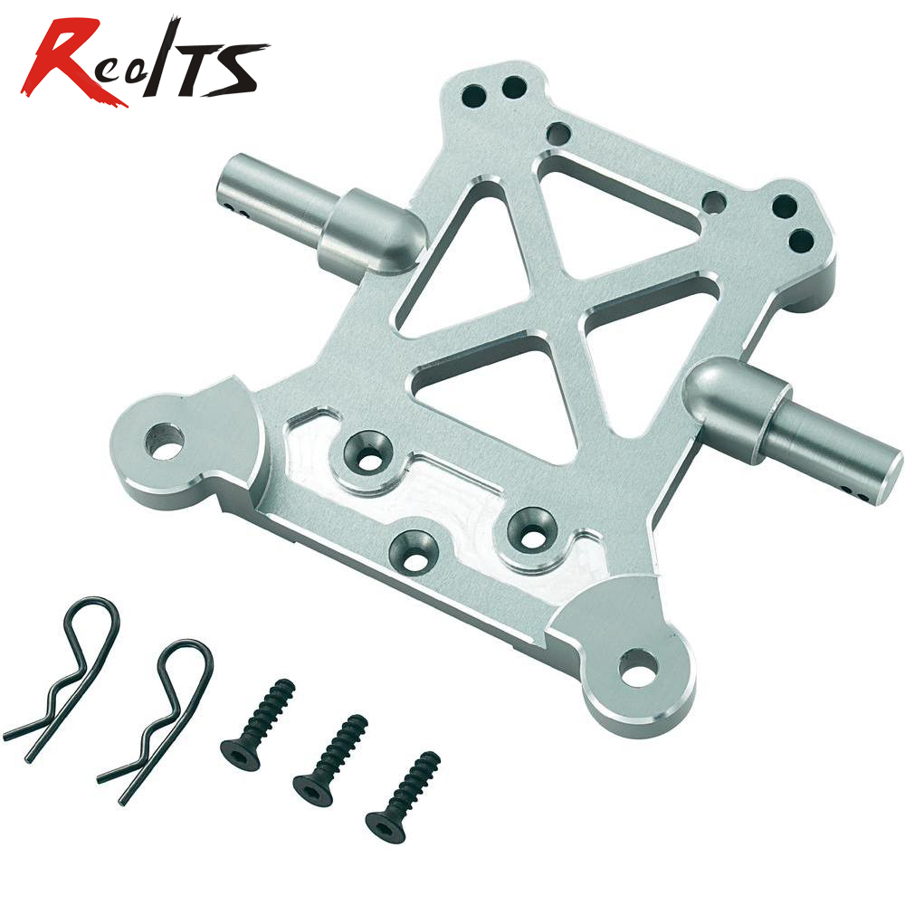 RealTS FS RACING 511387 Alloy rear Shock tower plate for CEN REEELY 1/5 free shipping 112118 2 pieces set drive axles rear rear wheel shaft for fs racing mcd fg cen reely 1 5 scale rc car
