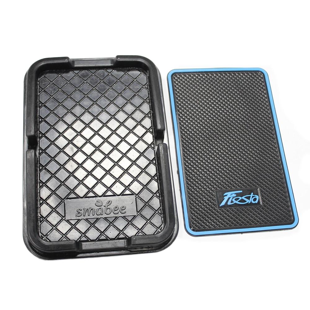 Мобильный телефон 3D скольжению колодки Силикагель автомобилей Антипробуксовочная мат стикер Для Форд Фиеста 2008 по 2015 автомобильные аксессуары автомобиль-стайлинг