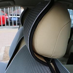 Image 5 - 1 pc רשת לנשימה מושב מכונית מכסה כרית fit עבור רוב מכוניות/קיץ מגניב כרית מושבי לוקסוס גודל אוניברסלי מכונית כרית