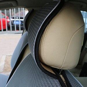 Image 5 - 1 pc通気性メッシュの車シートカバーパッドフィットほとんどの車/夏クール席クッション豪華なユニバーサルサイズ車のクッション