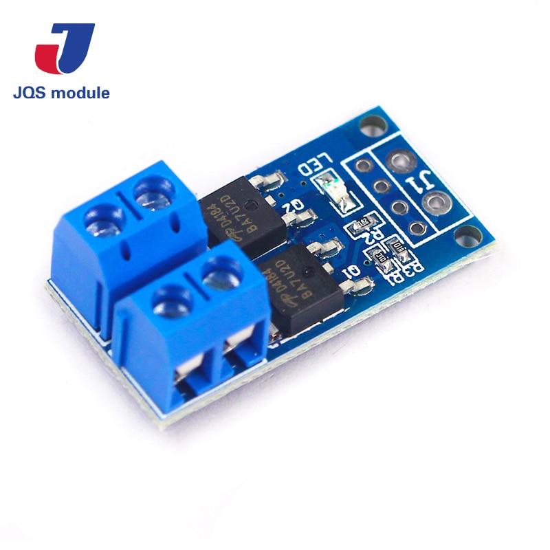 High Power 15A 400W MOS FET Trigger Switch Drive Module PWM Regulator Control Panel
