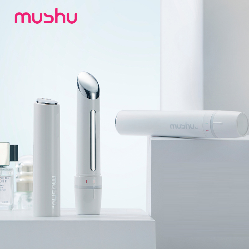 USB Rechargeable vibrateur yeux lèvres Massage Anti-âge rides sombre cercle dissolvant visage levage rajeunissement soins de la peau masseur