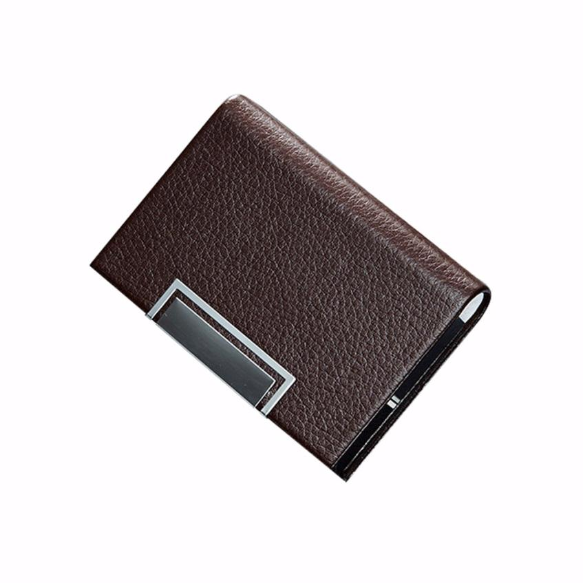 Xiniu Business Card Case Holder Wallet Cards Travelling Solid Safe ...