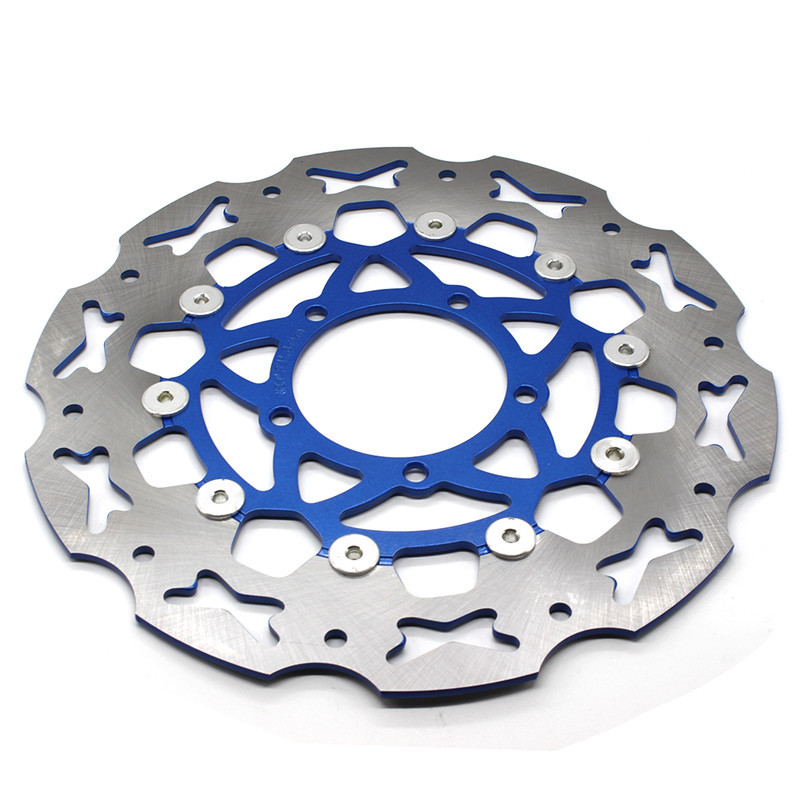 Motorcycle 320mm Floating Front Brake Disc Rotor For