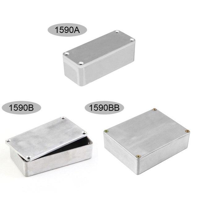 99a2fc5ffd TSAI 1590A/1590B/1590BB Aluminum Stomp Box Effects Pedal Enclosure For Guitar  Effect Case