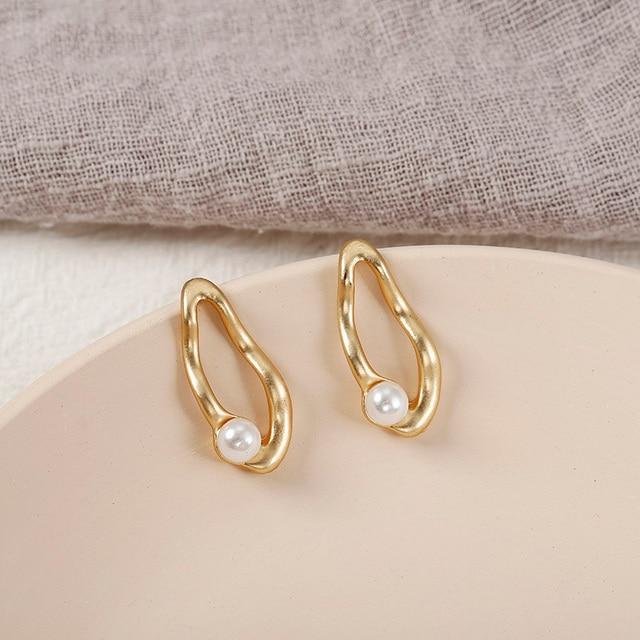 Pearl Drop Earrings 2