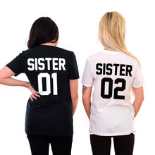 40e56d8b499489 Sisters Shirts Matching Family Best Friends BFF s Besties Girl Gang Sister  Cool Casual pride t shirt
