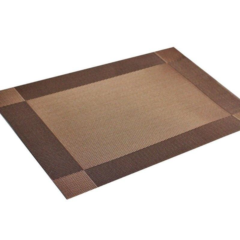 PVC Salle Tapis de Table des Plaquettes de Freins Bol Montagnes Pad Étanche Table Pad Antidérapant 4 Pièces Nouveau