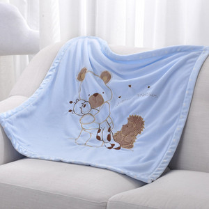 Image 3 - Baby Blankets Newborn Bebes Swaddling Wrap Quilts Funny Cartoon Winter Warm Toddler Infant Stroller Bedding Linen Covers 75*75cm