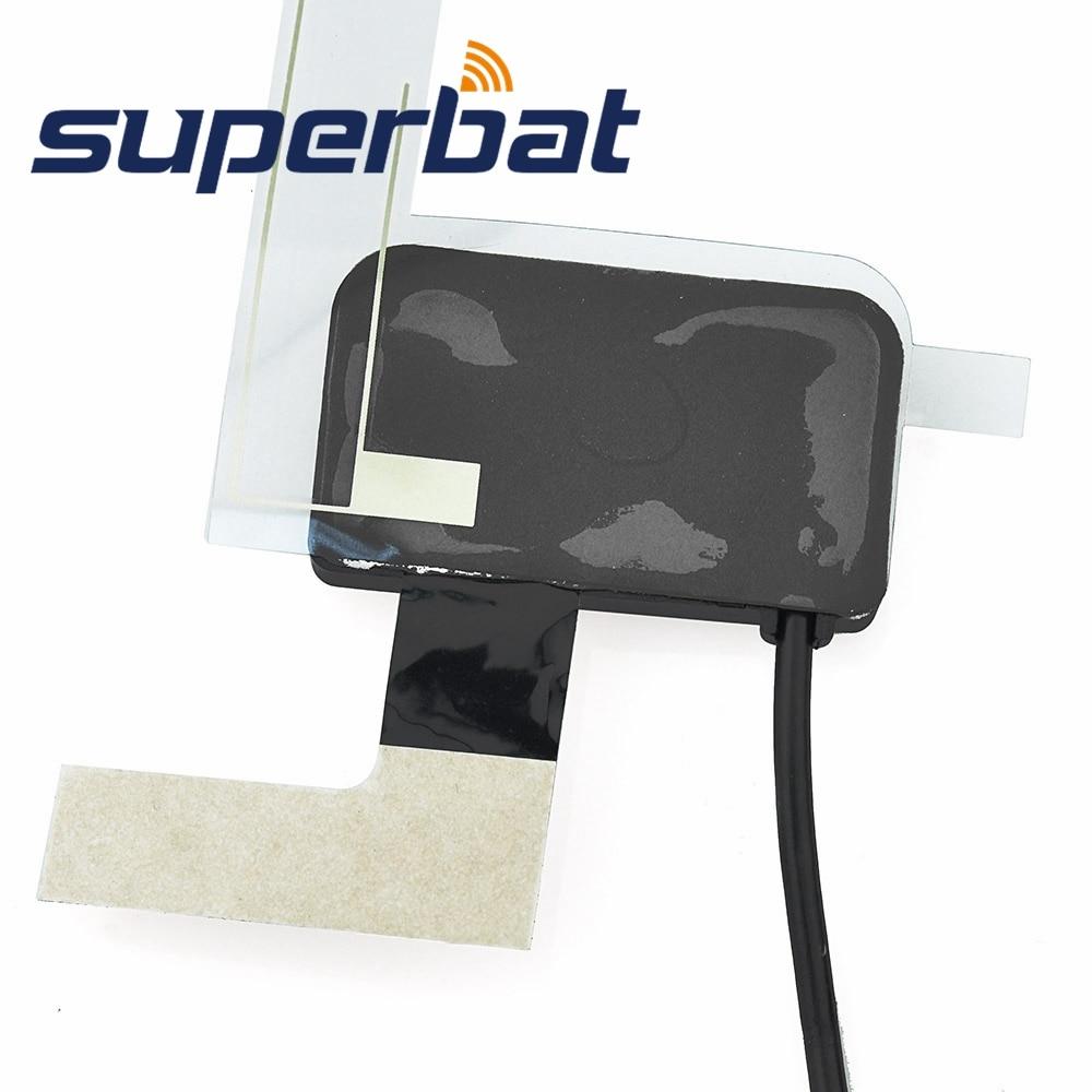 Superbat DAB / DAB + / FM / AM Bilradioer Antennförstärkt - Kommunikationsutrustning - Foto 3