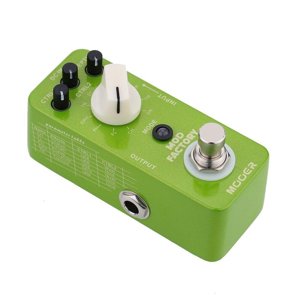 mooer mod factory micro mini electric guitar modulation effect pedal true bypass guitar effect. Black Bedroom Furniture Sets. Home Design Ideas