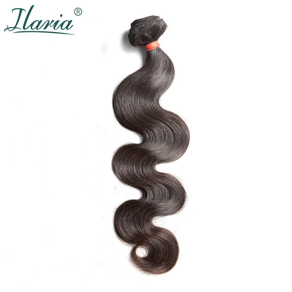 ILARIA HAIR 8A Mink Brazilian Virgin Hair Body Wave 1 Piece Natural Color 08 36 Unprocessed