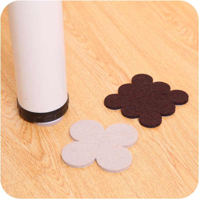 8 - 18pcs Adhesive Desk Chair Feet Pads Furniture Leg Feet Anti Slip Felt Mat Prevent Noise Protection Flooring