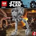 Nueva Hot Star Wars AT-DP Bloques de Construcción de Juguetes de Regalo serie de TELEVISIÓN animada Compatible Con Legoe Rebeldes