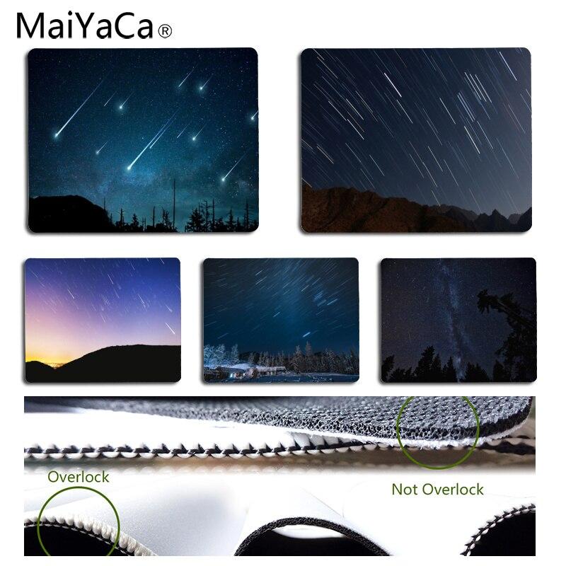 MaiYaCa высокое качество метеорный поток под ночным DIY Дизайн узор игровой коврик Размеры для 18*22 см и 25*29 см коврик