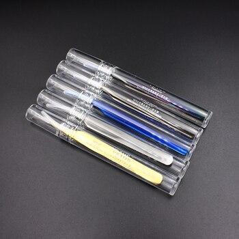 100% Original Genuine Vetus Tweezers MCS Series Premium Eyelash Extensions Beauty Makeup Tweezers Ultra Fine Tip Tweezers 6