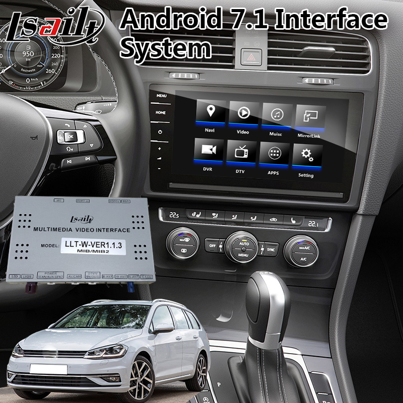 Lsailt Android Multimedia Video Interface For VW Tiguan / Arteon / Passat / Polo MOB MIB MIB2 System 2017-2020 Year