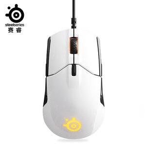 Image 2 - Freies verschiffen Sensei 310 optische wired gaming maus RGB Licht 12000 DPI Maus Für LOL CF