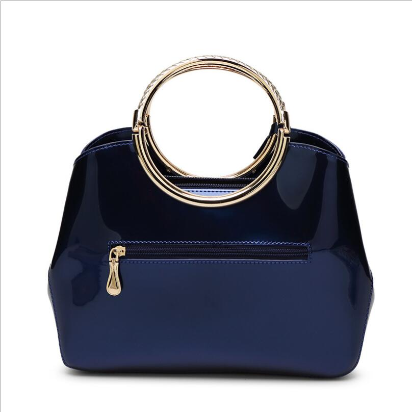 Women Leather Handbag Famous Brands Bright Messenger Bag Wild Shoulder From Reliable Brand Suppliers On Inho Chancy