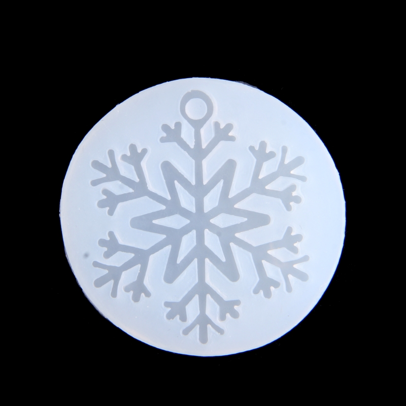 Snowflake Silicone Mold DIY Pendant Jewelry Resin Casting Mould Crafts Handmade