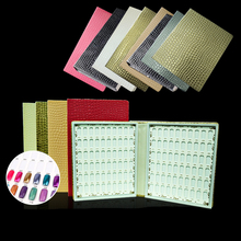 120/160 Colors Nail Art Color Book Chart Nails Salon Acrylic Gel Tips High Quality Manicure Display With Free
