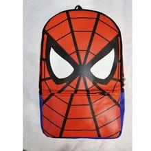 Fashion Leather Backpack Anime Spider-man School Bags Super Hero The Avengers Deadpool Batman Spider Men Travel mochila escolar