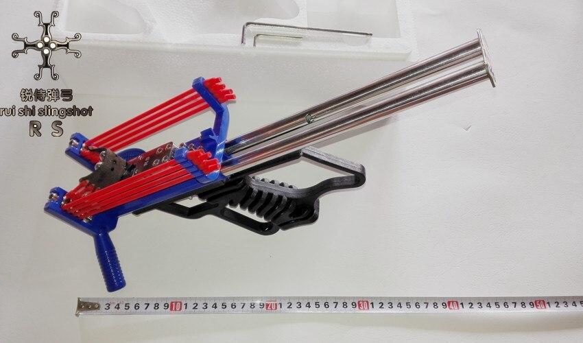 Mini Creative recanting slingsho bore mechanical slingshot Outdoor shooting toys Hunting tools Long - range strike Free Shipping