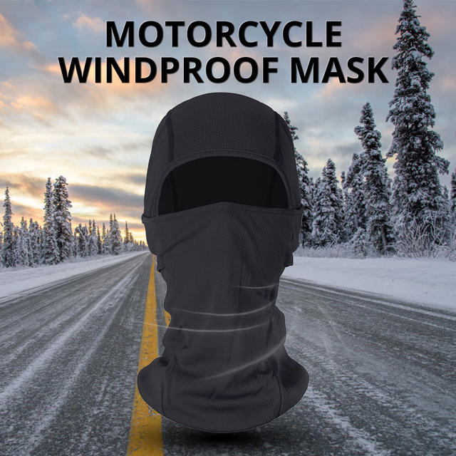 HEROBIKER Motorcycle Face Mask Balaclava Warm Windproof Breathable Cycling Ski Face Shield Airsoft Paintball Helmet Mask Moto 1