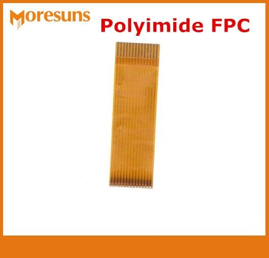 Индивидуальные Погружения Золото Полиимид гибкая печатная плата/FPC Полиимид химический fpc доска Goldfinger гибкая печатная плата