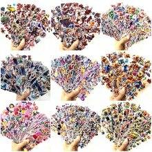 New 3D Cartoon Stickers Waterproof Bubble PVC DIY Sticker Spiderman Mickey Animal Girls Boys Kids Children Gifts 12/6 Sheets/lot
