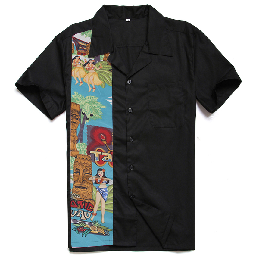 Compare Prices On Men Bowling Shirts- Online Shoppingbuy Low Price Men Bowling Shirts -9013