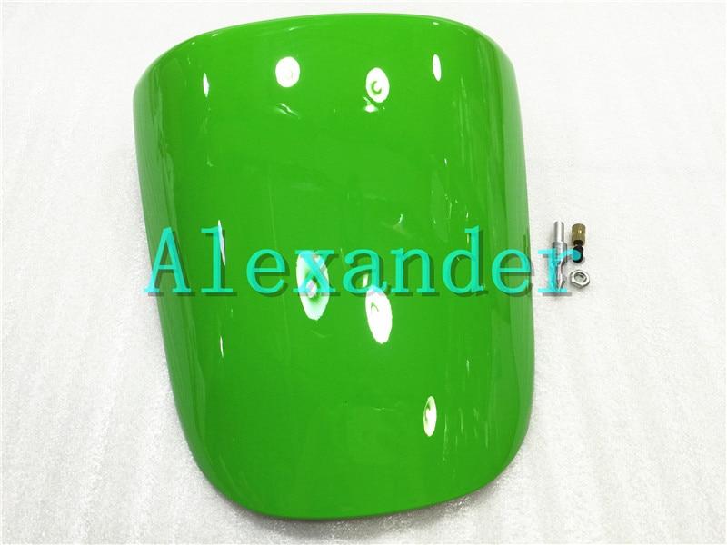 Green For Kawasaki ZX6R 2000 2001 2002 636 00 01 02 zx6r Rear Seat Cover Cowl Solo Motor Seat Cowl Rear Fairing Set ZX 6R