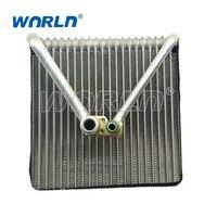 Car air conditioner compressor cooling core evaporator for Volkswagen Polo 2001 2007