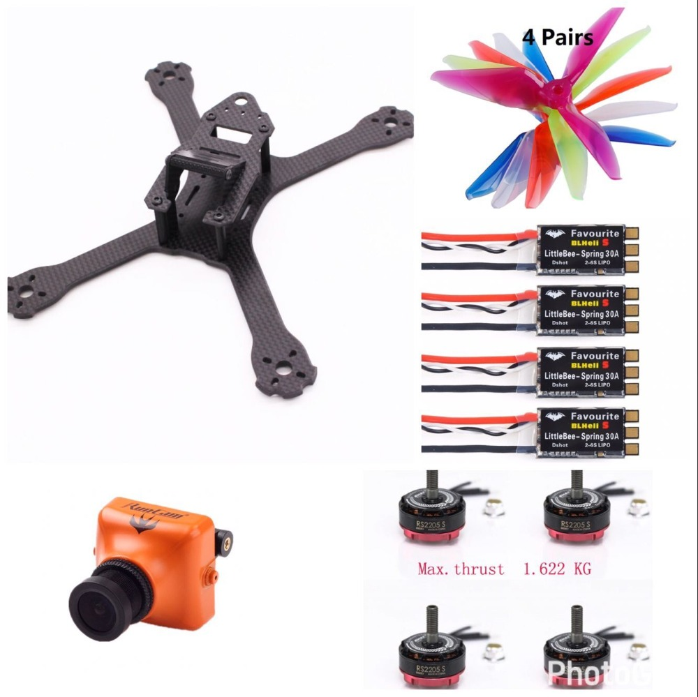 QAV-XS Stretch FPV Racing Quadcopter QAV-X frame upgrade mini Diy drone Use for  5