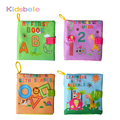 Baby Rattles Mobiles Toy Soft Animal Cloth Book Newborn Stroller Hanging Toy Bebe Early Learning Educate Baby Toys 0-12 Months