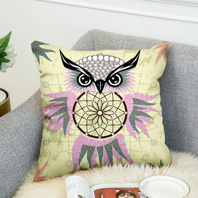owl body pillow