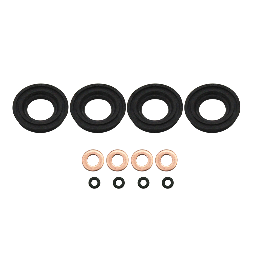 Peugeot Citroen Fiat Ford 2.2 HDI TDCI Injector Copper Seal and Upper Seal x 4