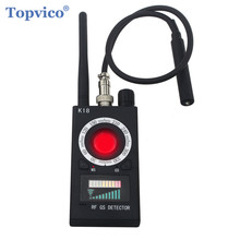 Topvico Full Range Pro Anti   Spy Bug Detector Wireless Camera Lens Hidden Signal GPS Tracker RF GSM Devices Magnetic Finder
