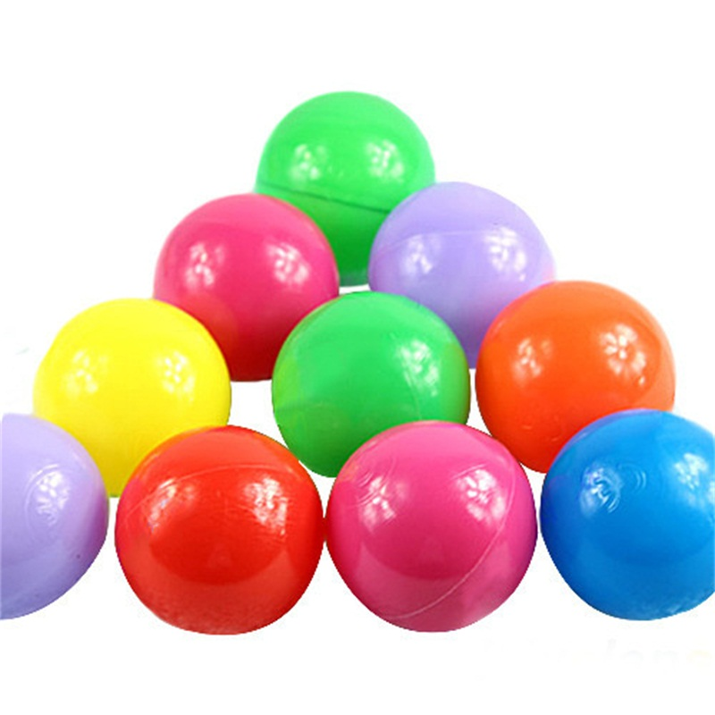 Plastic Toy Balls : New pcs lots colorful ball fun soft plastic