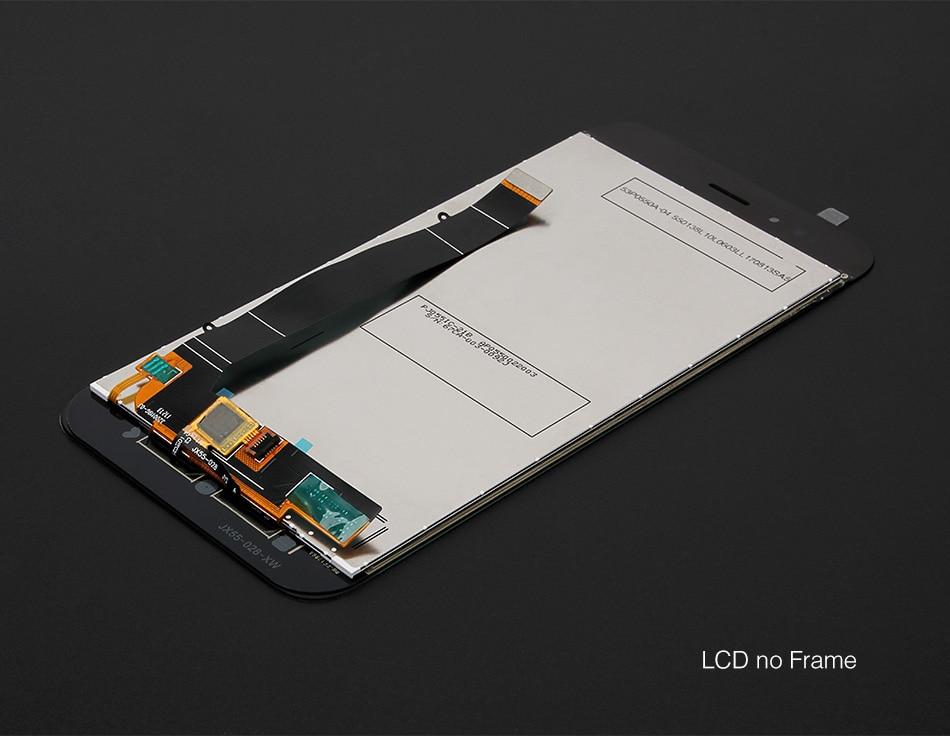 HTB1rNXSgFGWBuNjy0Fbq6z4sXXam For Xiaomi Mi A1 LCD Display + Frame Screen 10 Touch Panel MiA1 Mi5X LCD Display Digitizer Touch Screen Repair Spare Parts